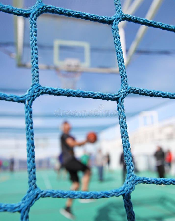 Basketball Showdown stock image