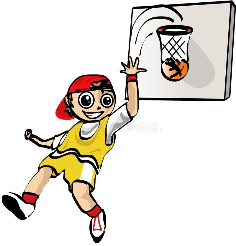 Basketball-Spieler vektor abbildung