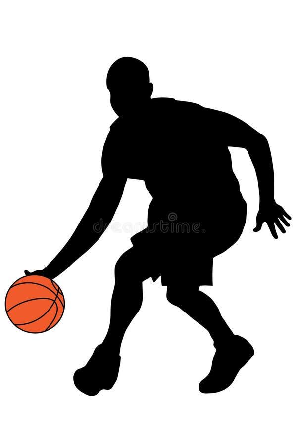 Download Basketball-Spieler stock abbildung. Illustration von spaß - 9079780