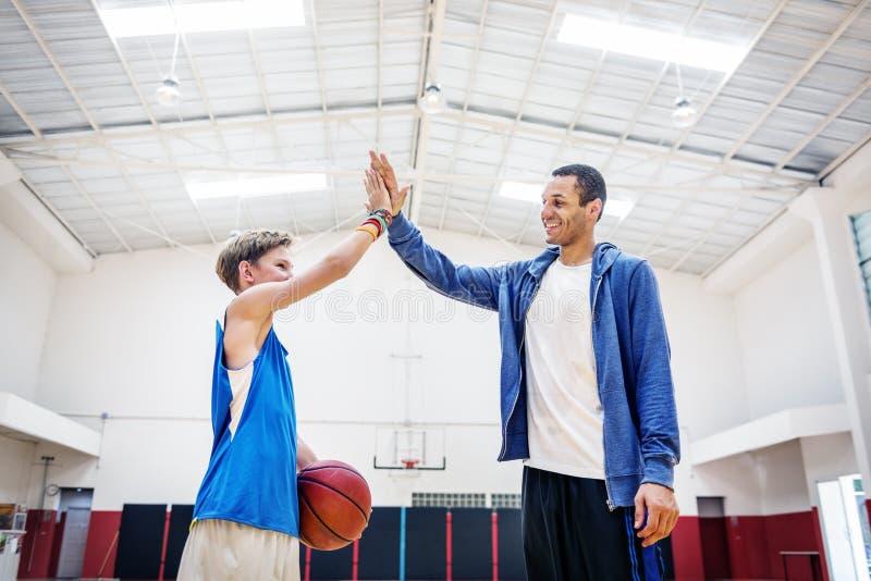 Basketball-Spieler-Athleten-Exercise Sport Stadium-Konzept stockfotos