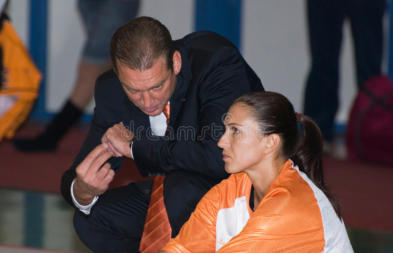 Basketball-Spieler Svetlana Abrosimova lizenzfreies stockbild