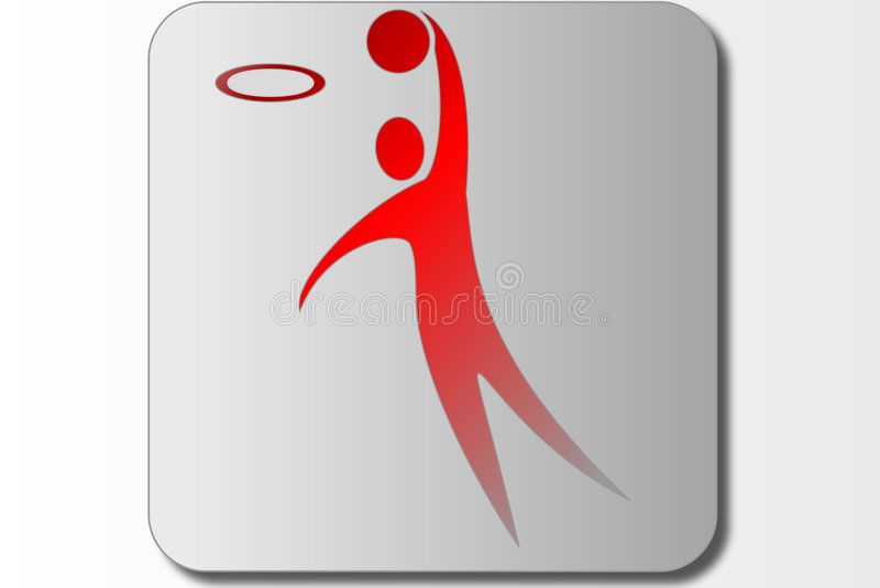 Download Basketball Symbol sign stock illustration. Illustration of sign - 6008220