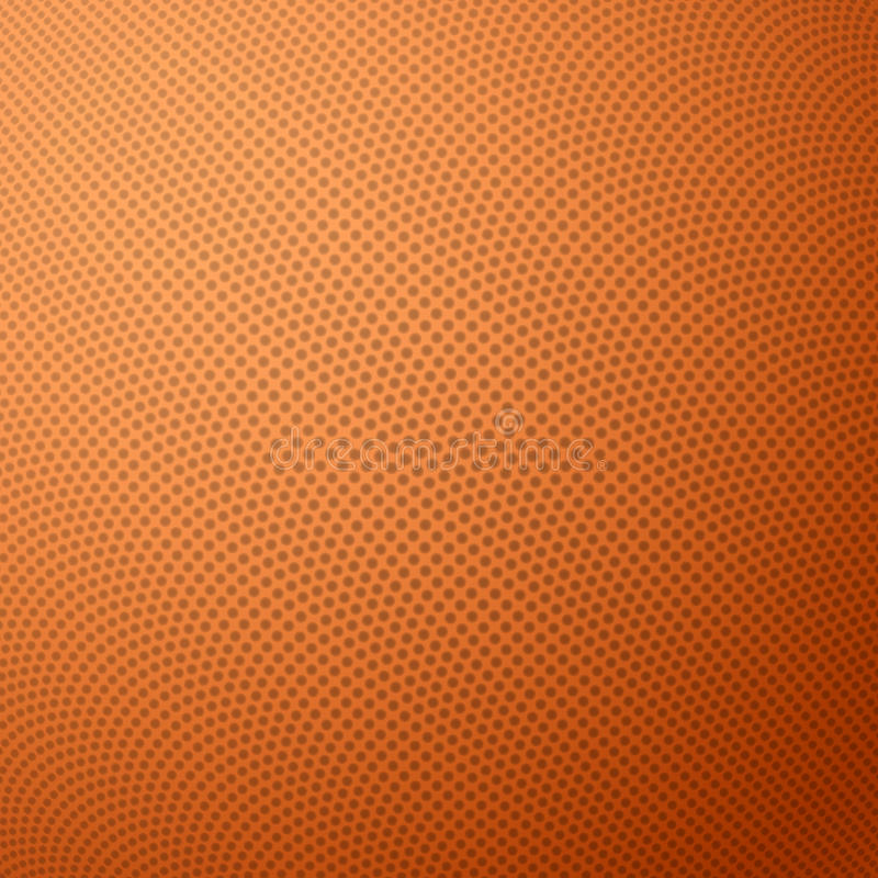 Basketball texture with bumps. Illustration royalty free illustration