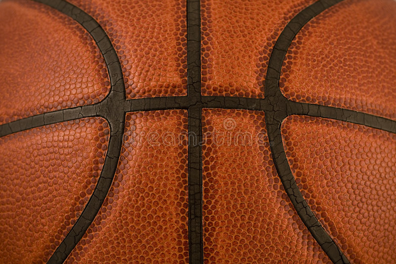 Basketball Texture Macro stock photo