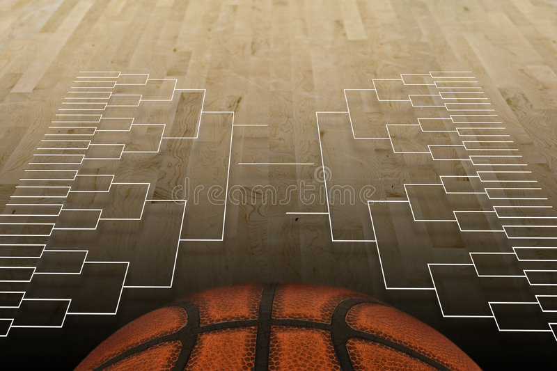Basketball Tournament royalty free stock photos
