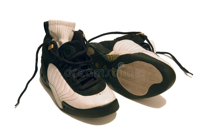 Basketball trainers stock photos