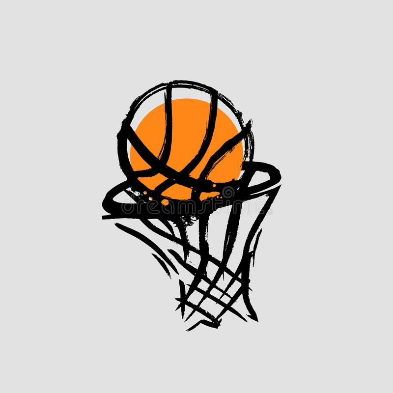 Basketball vector stock image