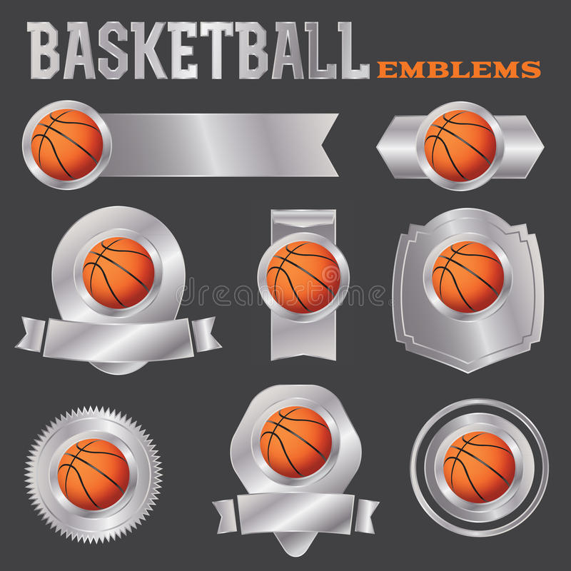 Basketball versinnbildlicht Illustration stock abbildung