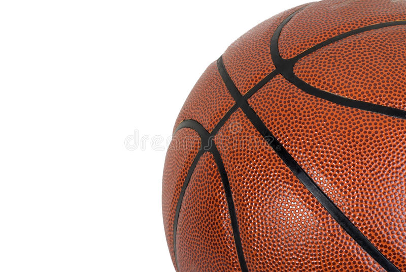 Download Basketball On A White Background Stock Images - Image: 18519934
