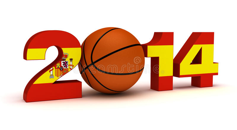 2014 Basketball World Cup royalty free stock photography