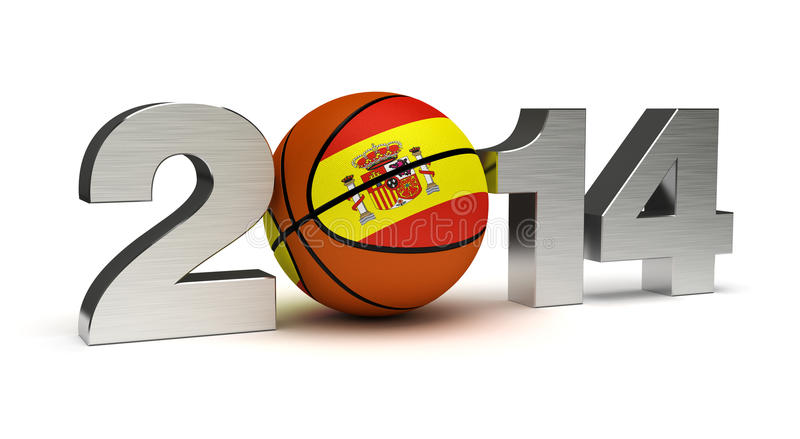 2014 Basketball World Cup royalty free stock images
