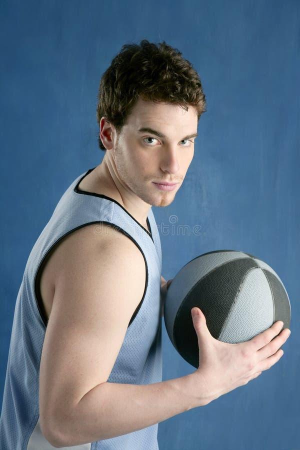 Basketball young man basket player portrait