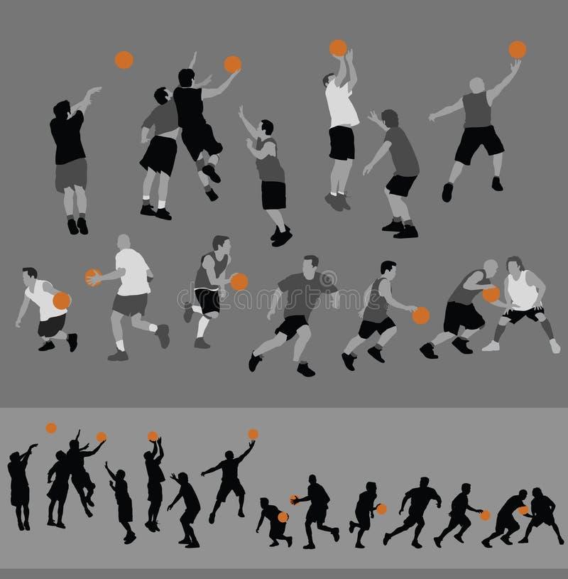 Basketball1 illustration libre de droits