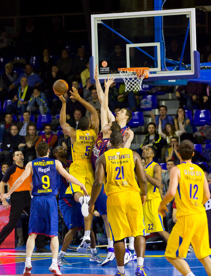 Basketballaktion lizenzfreie stockfotos