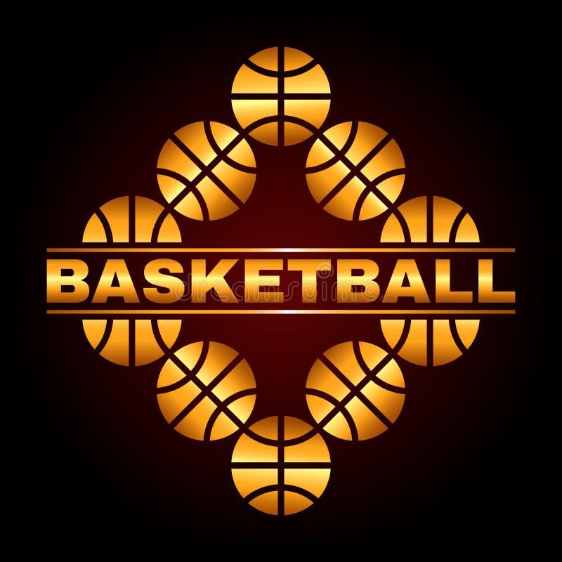 Basketballdesign 3 vektor abbildung