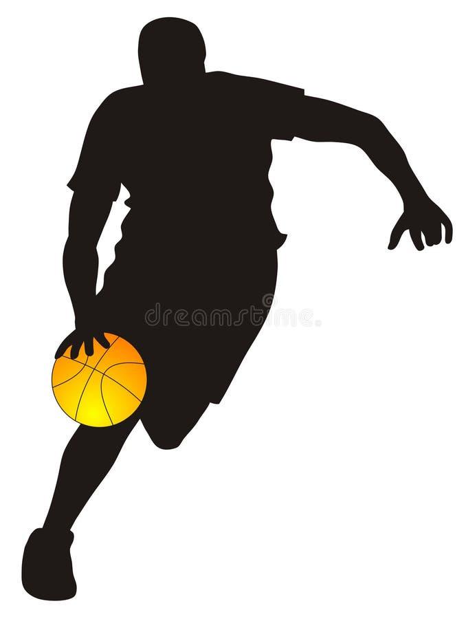 basketballer απεικόνιση αποθεμάτων