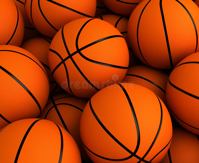 Basketballhintergrund lizenzfreie abbildung