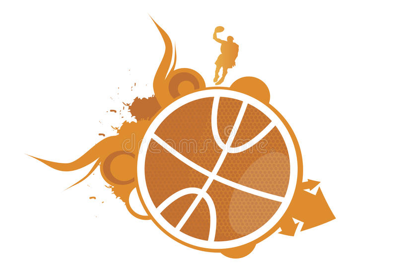Basketballhope illustration stock
