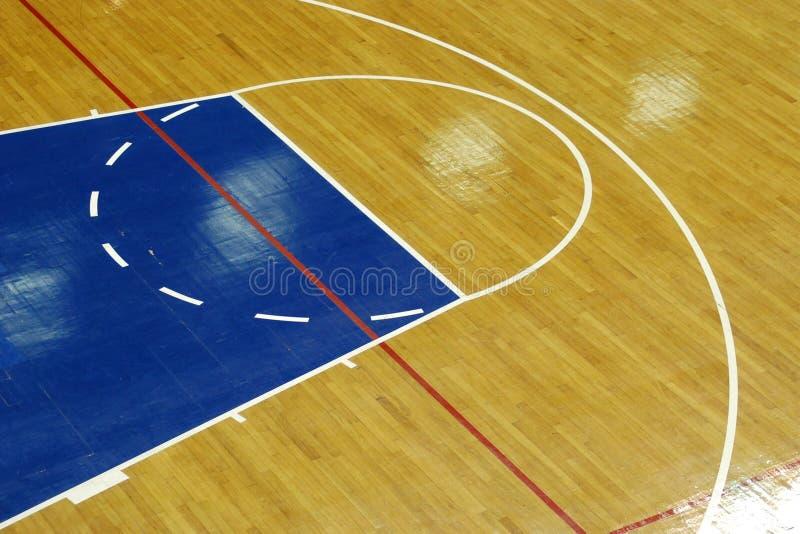 Basketballplatz stockbilder