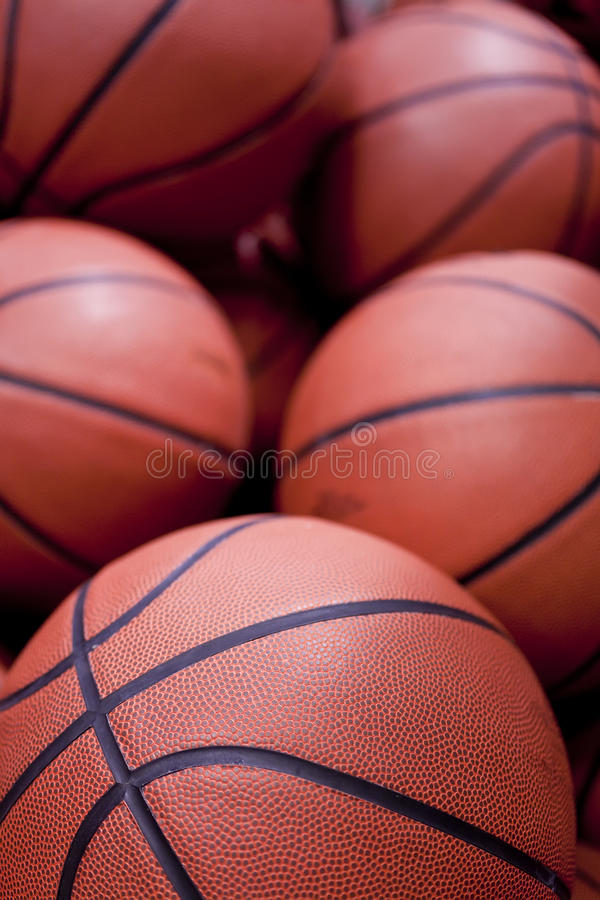 Download Basketballs stock image. Image of five, close, balls - 22855905