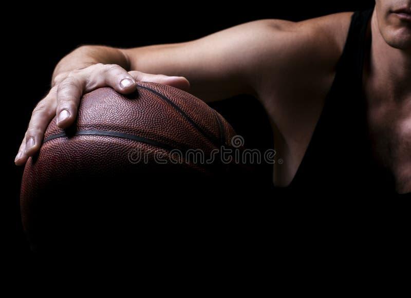 Basketbalspeler stock foto's