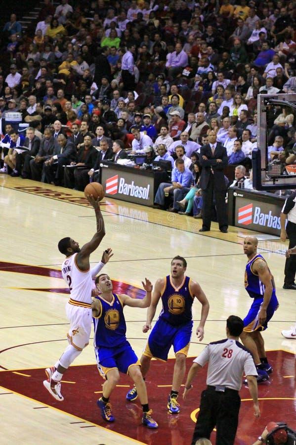 Basketbalspeler Kyrie Irving royalty-vrije stock fotografie