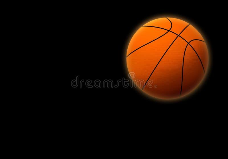 Basketboll 3 stock illustrationer