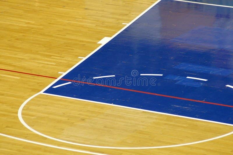 basketdomstol arkivbilder