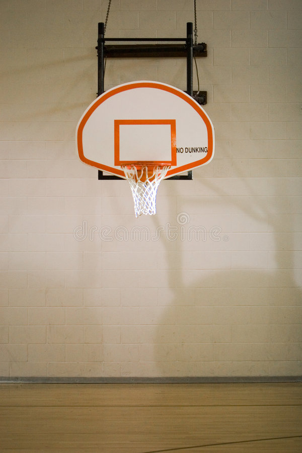 basketdomstolbeslag royaltyfria bilder