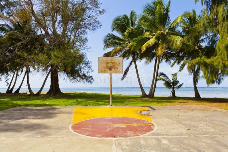 Basketfält Royaltyfri Bild