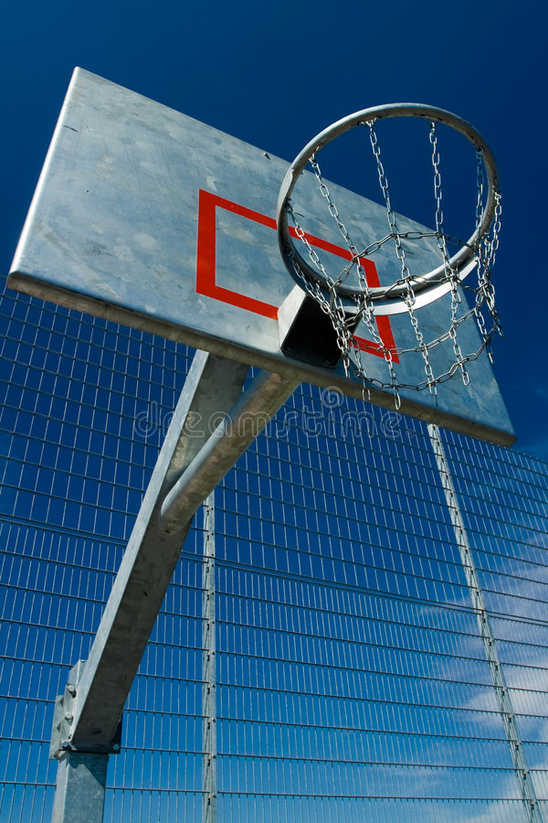 basketgata arkivfoton