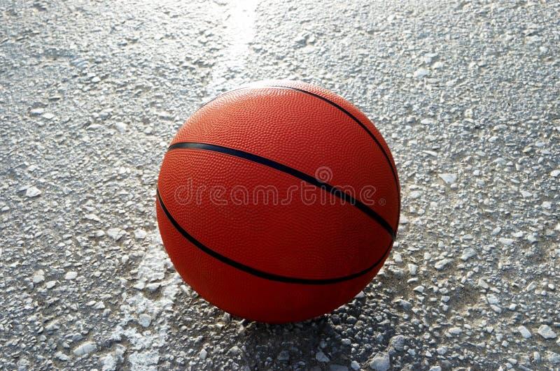 basketorange arkivbilder