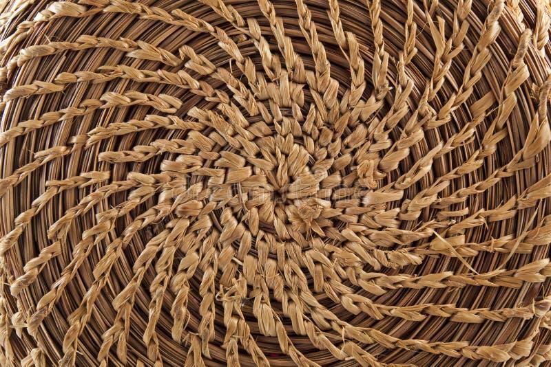 Basketry circular handmade fotos de stock royalty free