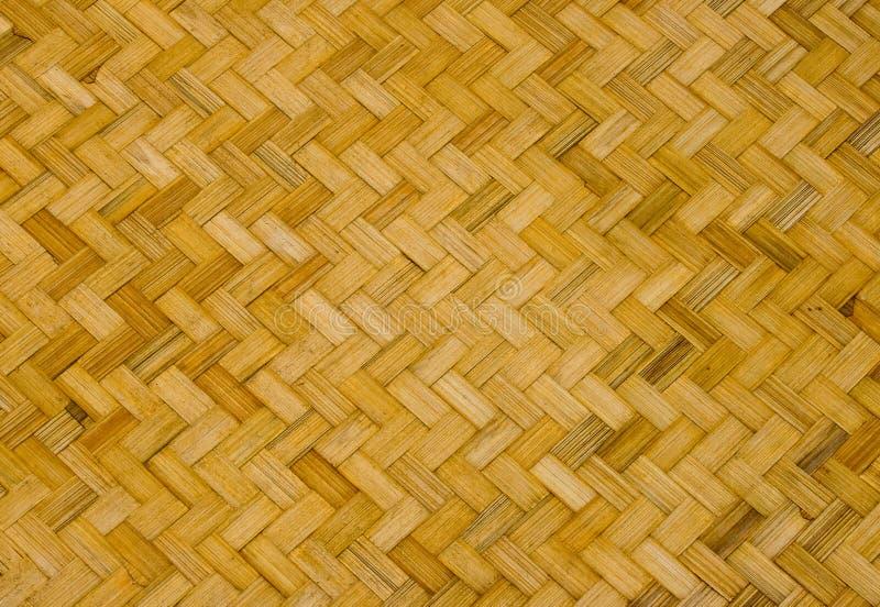 Basketry de bambu imagem de stock