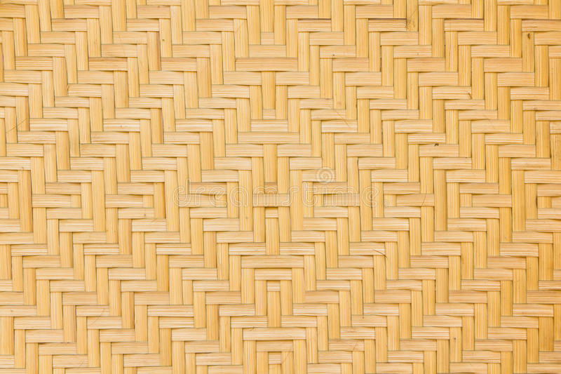 Basketry de bambu foto de stock