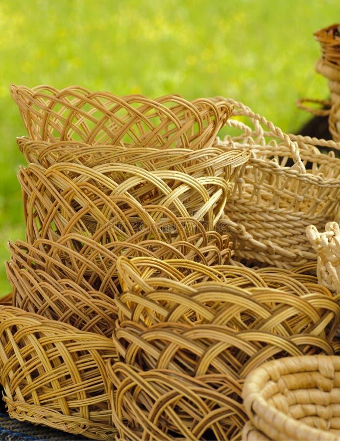 Basketry na natureza imagens de stock