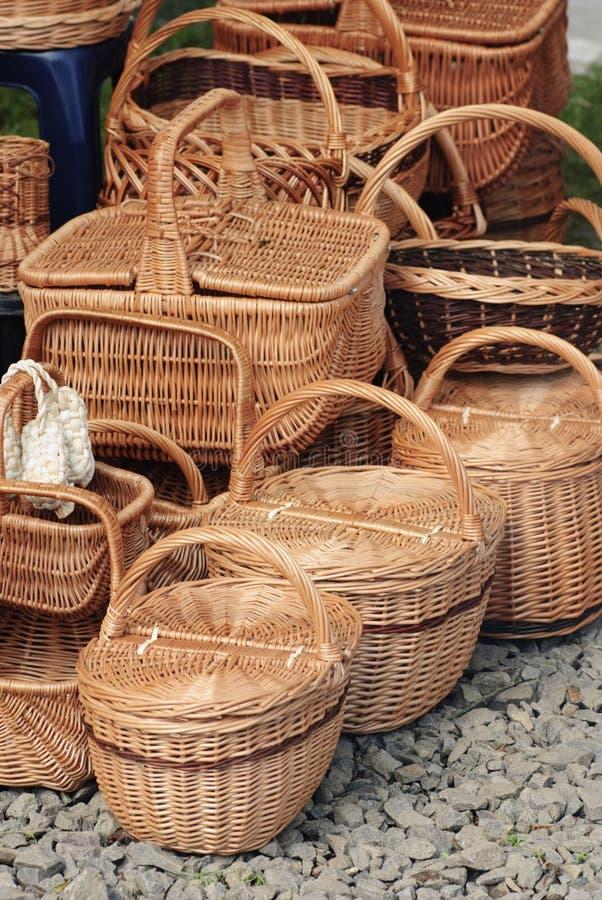Basketry na natureza foto de stock royalty free