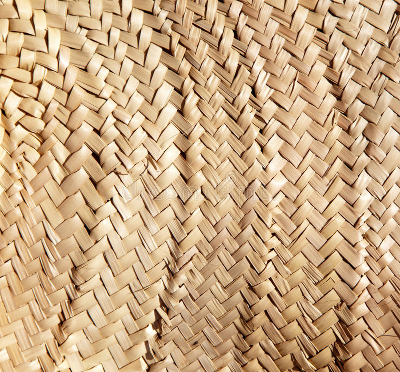 Exterior: Basketry Traditional Interlaced Dried Texture Royalty Free