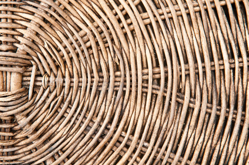 basketry velho do rattan imagem de stock
