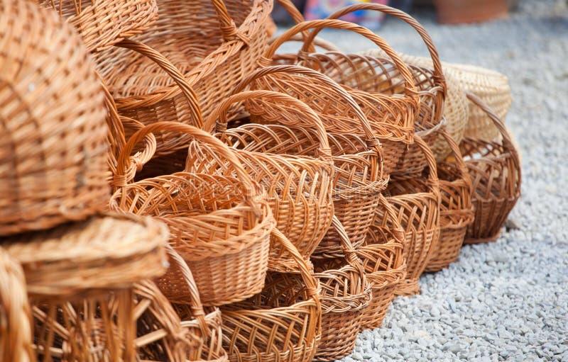 Download Baskets stock image. Image of retro, sale, basket, present - 17588637