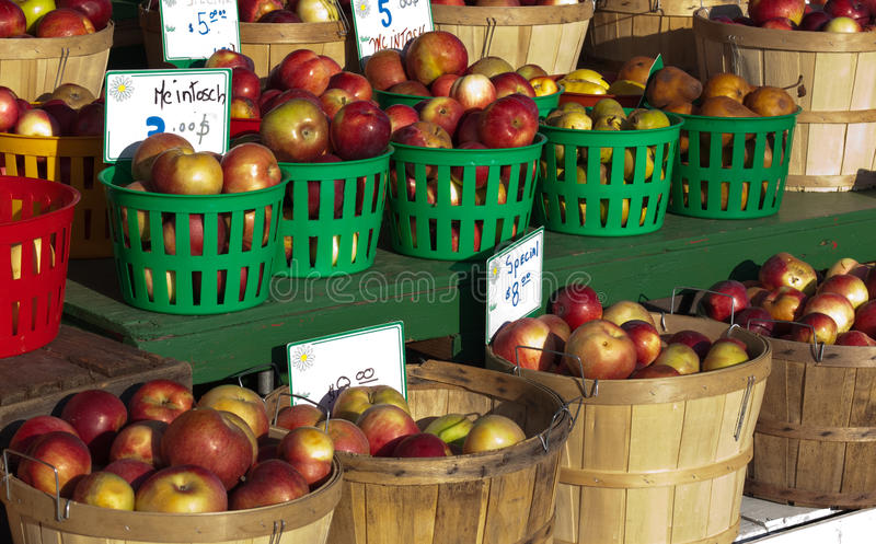 Download Baskets Of Apples Stock Photography - Image: 11907672