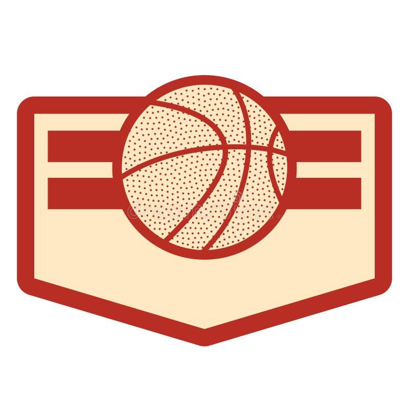 Basketsportdesign stock illustrationer