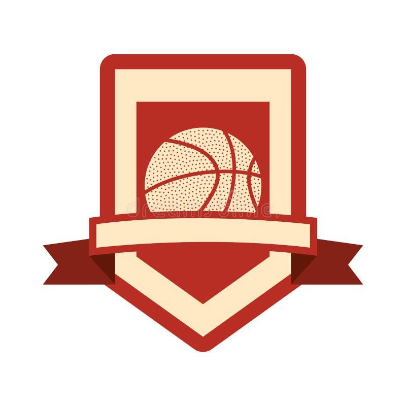 Basketsportdesign vektor illustrationer