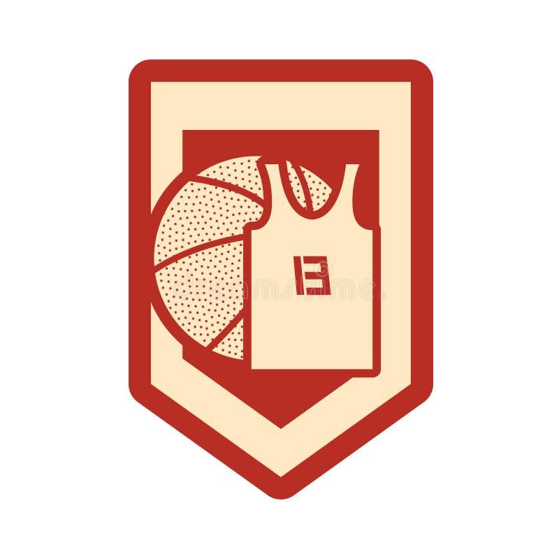 Basketsportdesign royaltyfri illustrationer