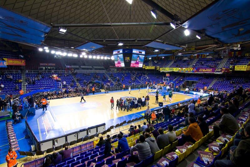 Basketstadion royaltyfri foto