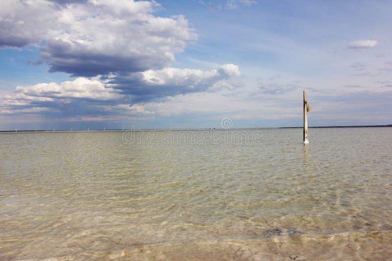 baskunchak jeziora sól obrazy royalty free