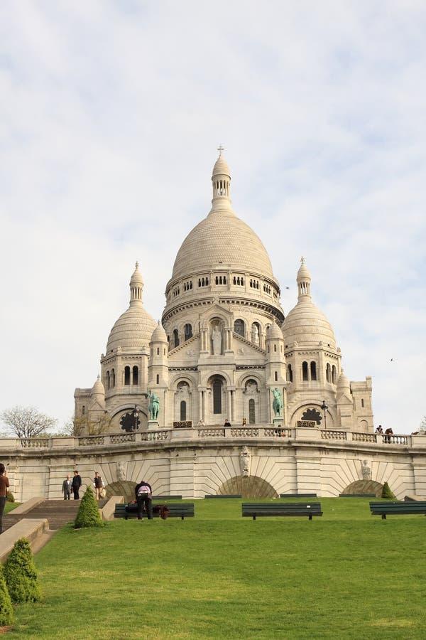 Basllique du Sacre Coeur stock photos