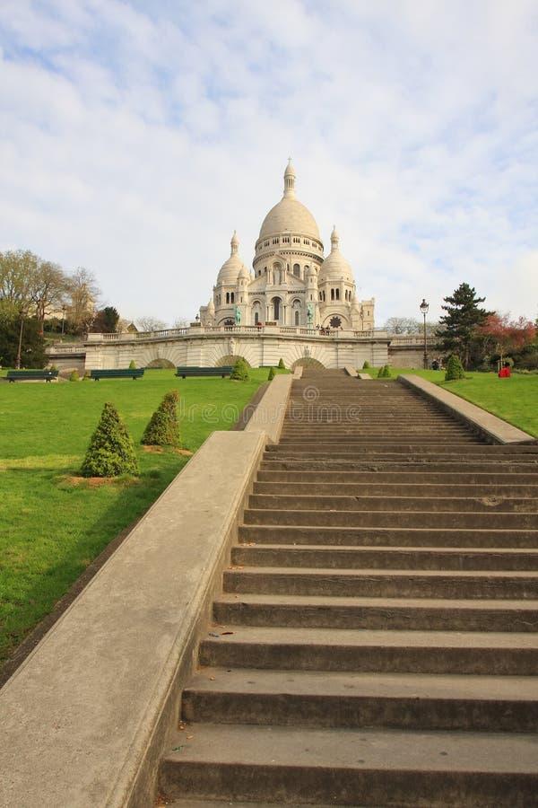 Basllique du Sacre Coeur stock image