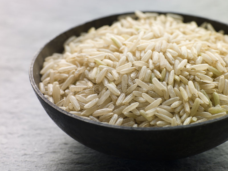 basmati ρύζι άψητο στοκ εικόνες