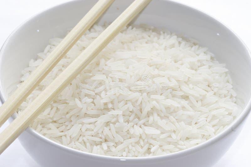 Basmati rice. Rice royalty free stock photo